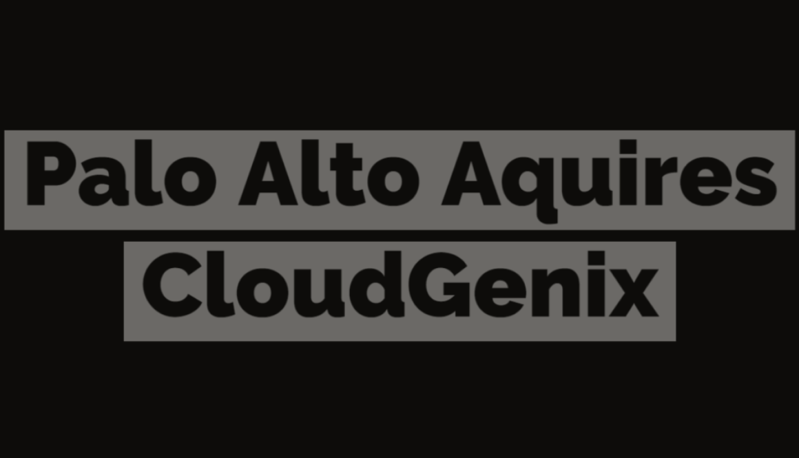Palo Alto Acquires CloudGenix
