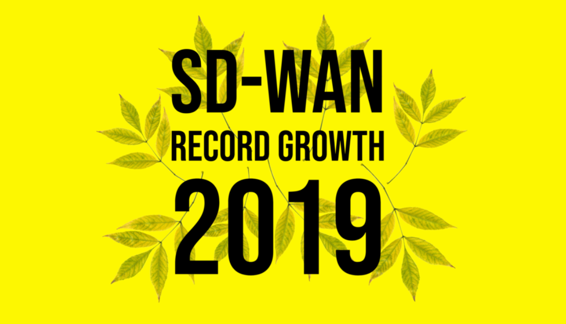 SD-WAN Growth 2019