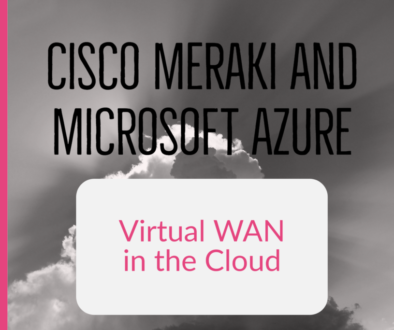 Meraki goes with Microsfot Azure