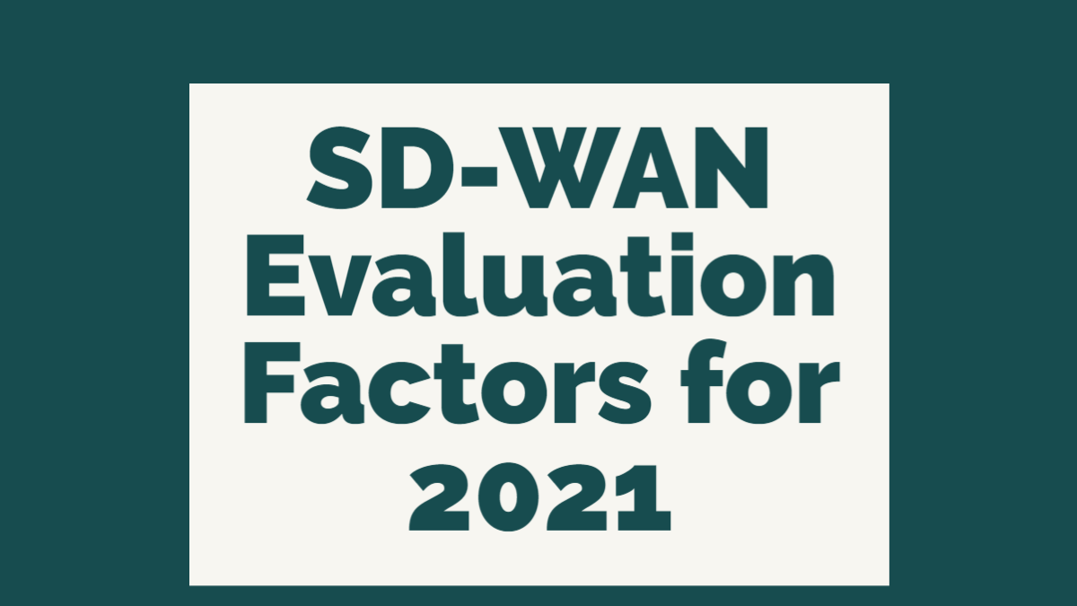 SD-WAN Growth